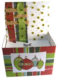 Gift basket box bench