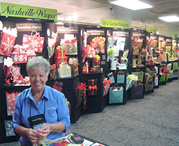 Nashville Wraps trade show display