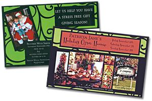 Open House Invitation Postcards