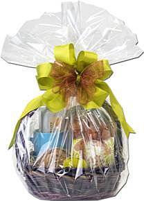 Cello bags gift basket tips part 1 nashville wraps blog cello wrapped gift basket negle Image collections