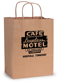 Loveless Cafe custom printed packaging