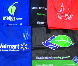 Reusable retail bags