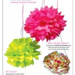 How to Make Tissue Paper Pom Pom Flowers Bloom Big