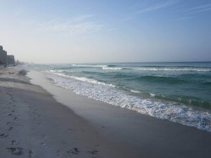 No oil in Panama City Beach Florida
