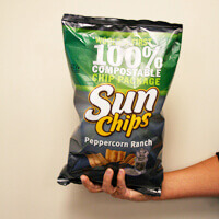Sun Chips Compostable Bag