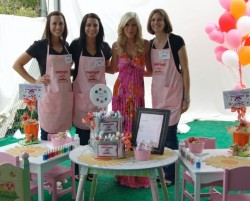 A Hollywood birthday party with Piggy Paint