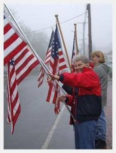 Freeport Flag Ladies