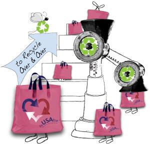 Closed Loop Recycling Bags