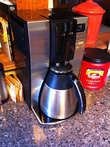 Coffee Maker with insulated carafe