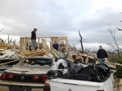 Joplin tornado photo provided by Nashville Wraps Customer