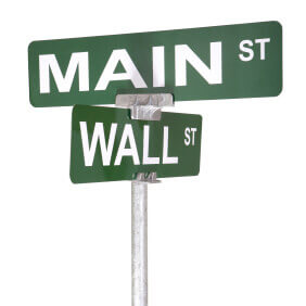 Main Street vs. Wall Street