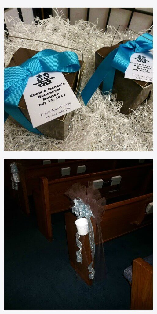 Renee's Wedding Favors & Pew Bows