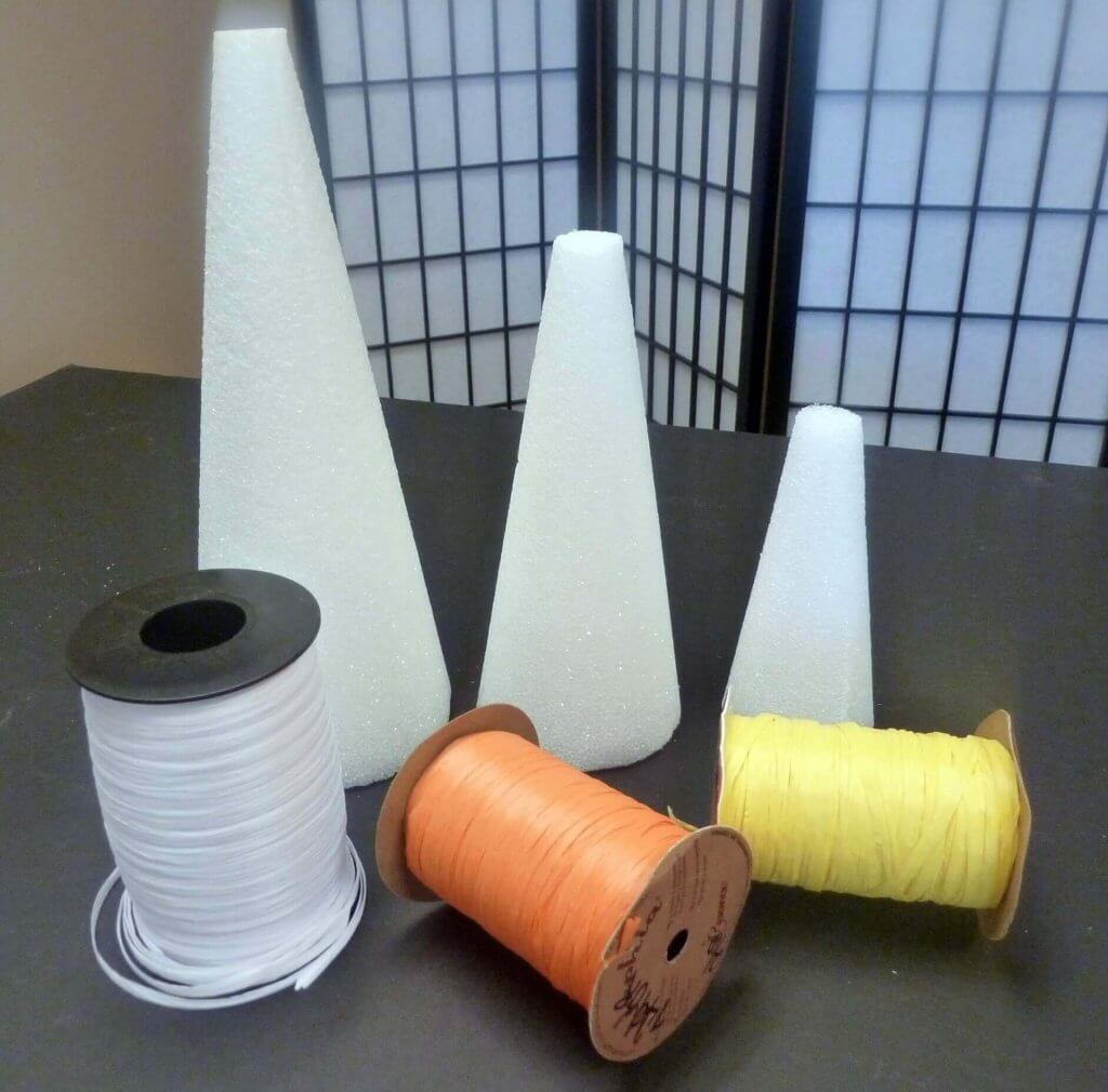 Candy Corn Cone Supplies