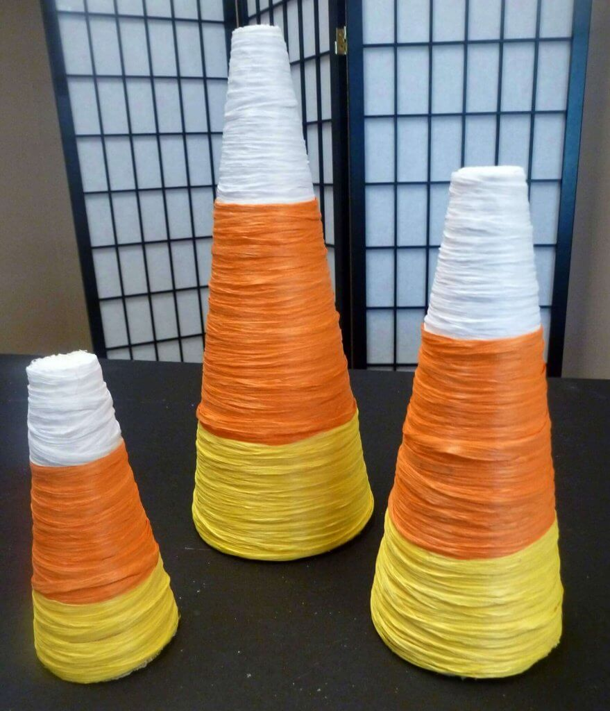 Candy Corn Blog Cones #7
