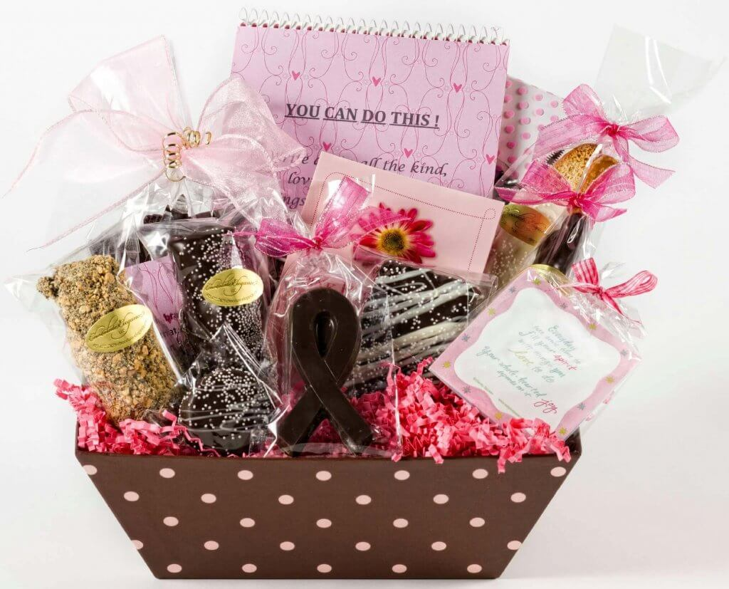 Chocolate Elegance Cancer Basket