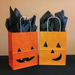 Jack O'Lantern Gift Bags