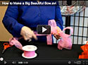 How to Make a Big Beautiful Bow