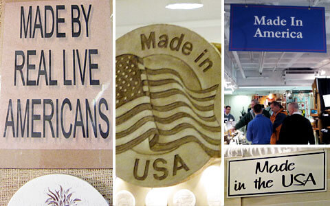 Made in America products were everywhere at Americasmart this year