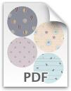 Plain circles - pattern 2