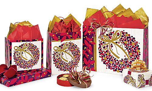 Berry Wreath packaging