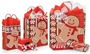 Holiday sweets packaging