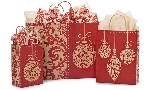 Ornament flourish packaging