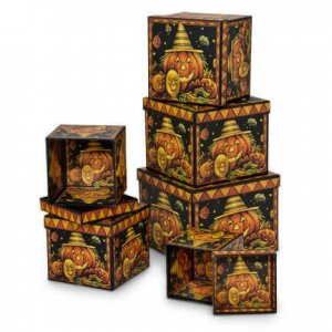 Pumpkin Nested Boxes