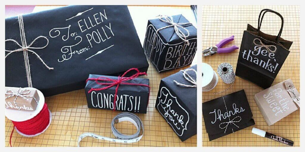 Chalkboard Wrap Collage