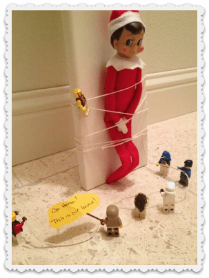 Elf on a Shelf Hostage