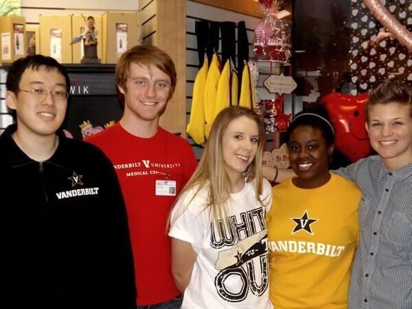 Vanderbilt Gift Shop Staff