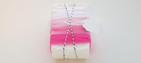 Ombré Tulle Soap Wrap