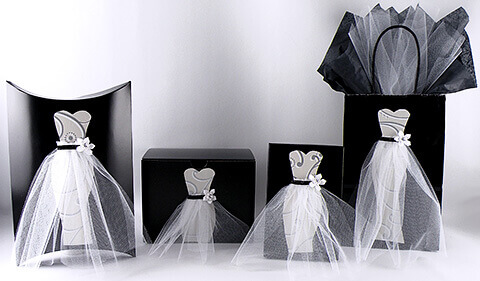 Wedding Dress Gift Wrap