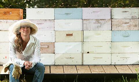 Laura of True Bee Honey