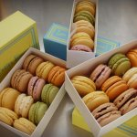 American-Made Custom Boxes for Les Petits Bisous' Very French Macarons