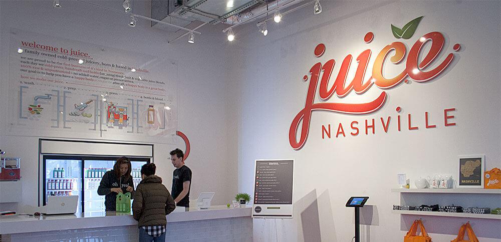 The juice. Nashville retail shop