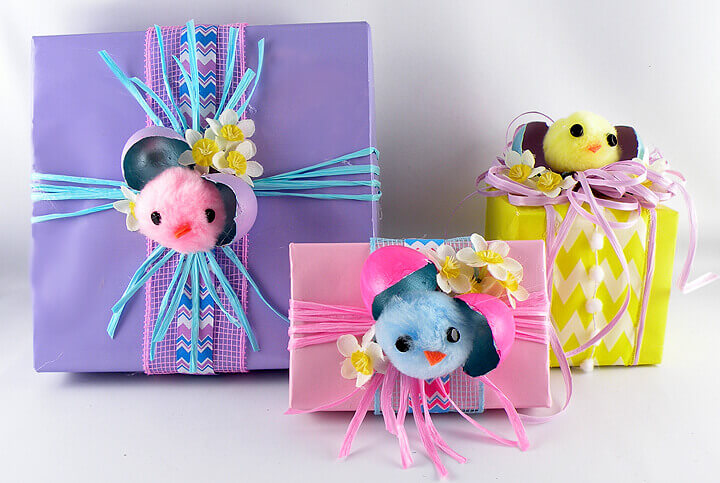 Gina Tepper - Easter Chicks Gift Wrapping 1