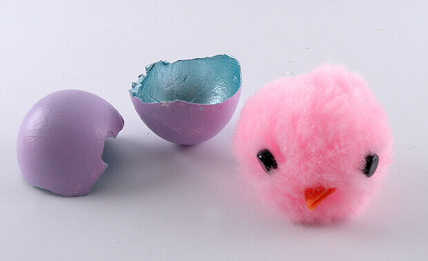 Gina Tepper - Easter Chicks Gift Wrapping 13