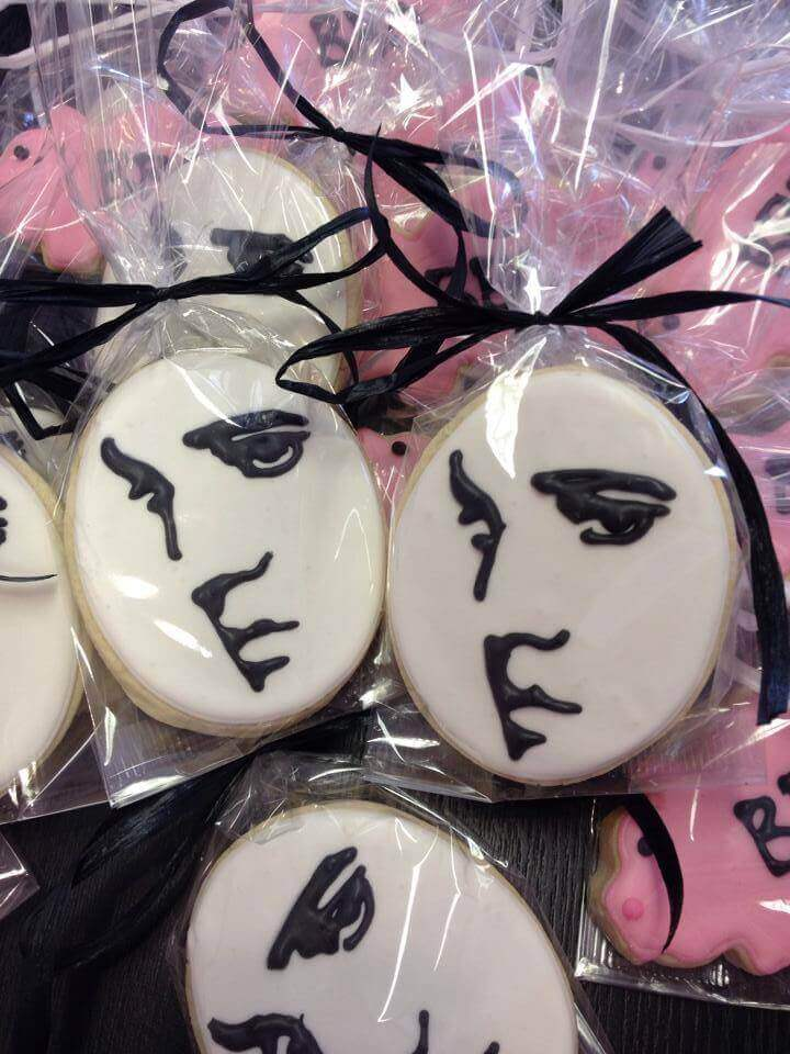Whimsy Cookie Company - Memphis - Elvis Cookie