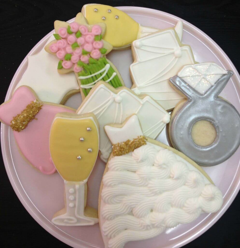 Whimsy Wedding Cookies Memphis