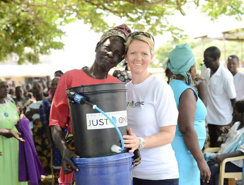 Just One Africa Clean Water Filter