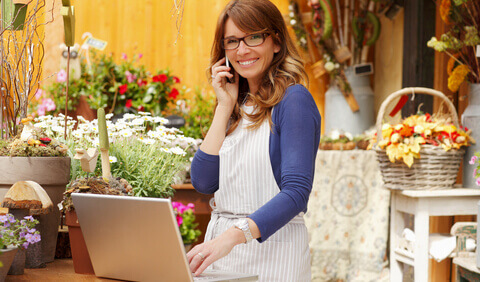 http://www.dreamstime.com/stock-photos-smiling-woman-florist-small-business-flower-shop-owner-mature-shallow-focus-image35071213
