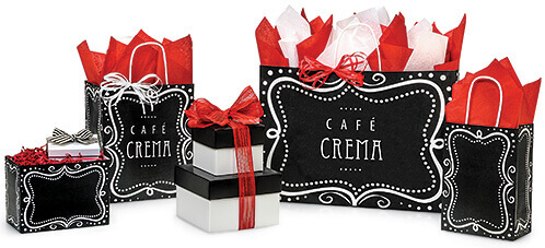 Chalkboard Wrapping Paper Bags