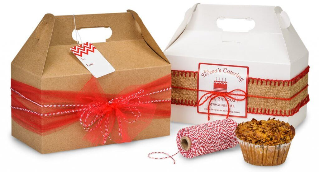 Gable Boxes Make Fun Packaging For Small Gifts Gourmet Foods
