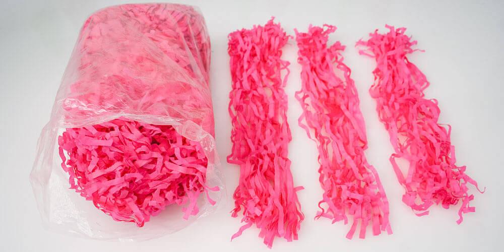 Tissue Tassels Step 1