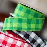 Gingham Ribbon from Nashville Wraps