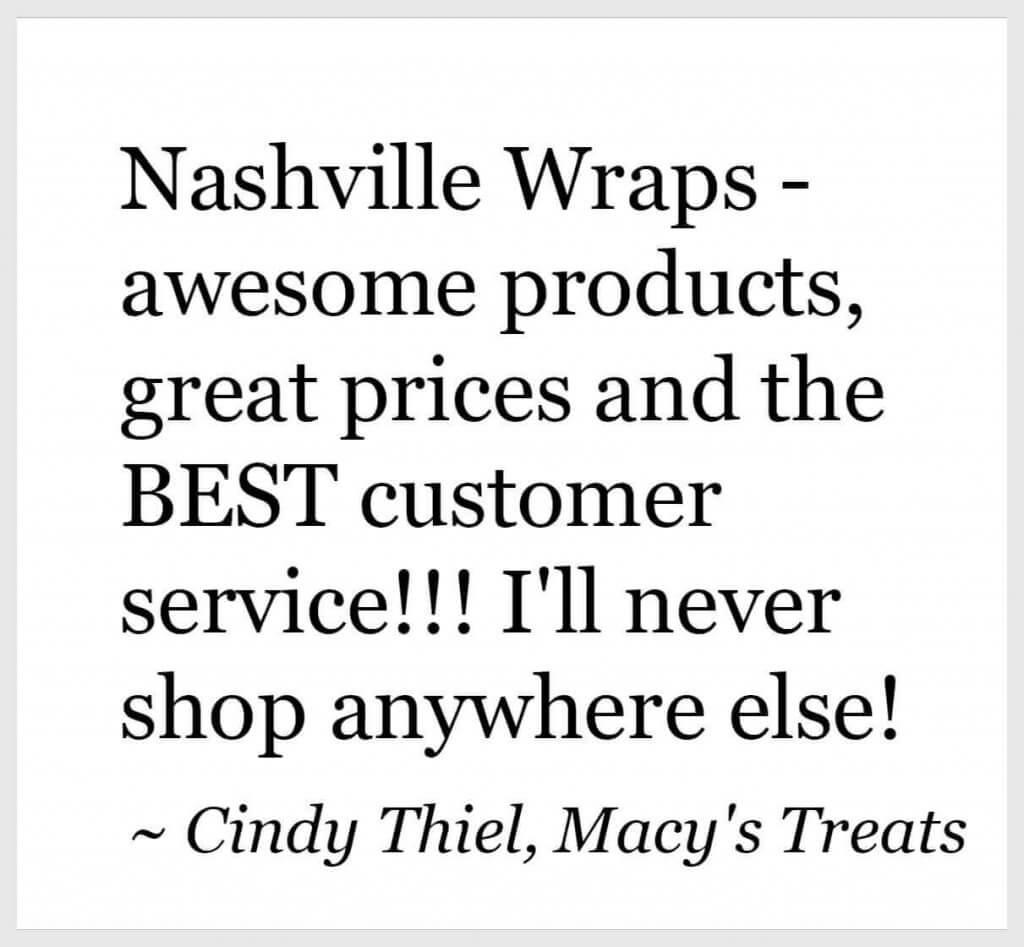 Nashville Wraps Testimonial