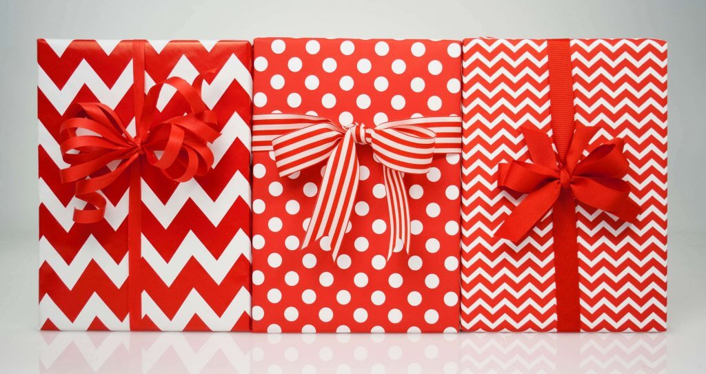 Red Gift Wrap