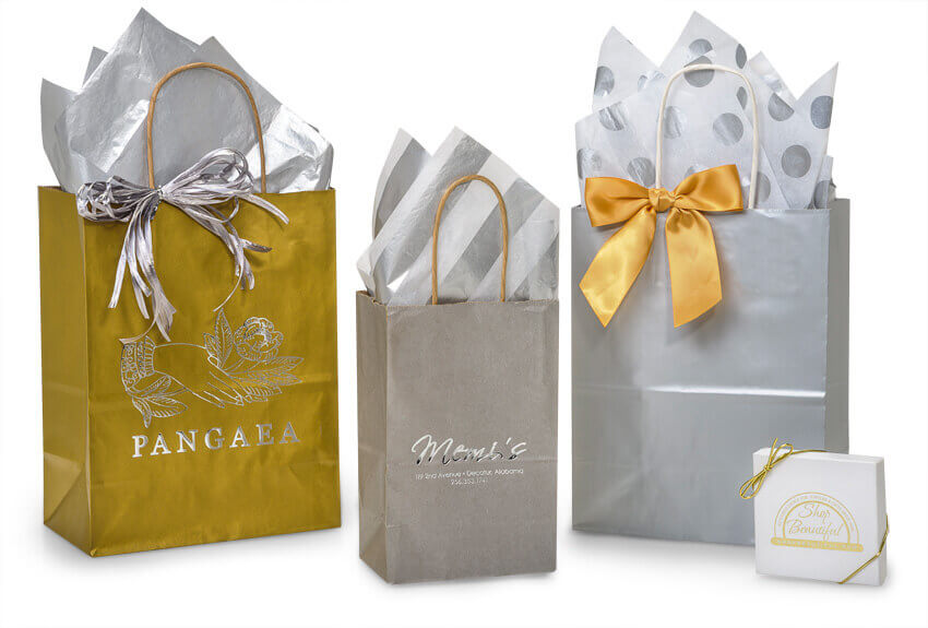 Silver & Gold Bags