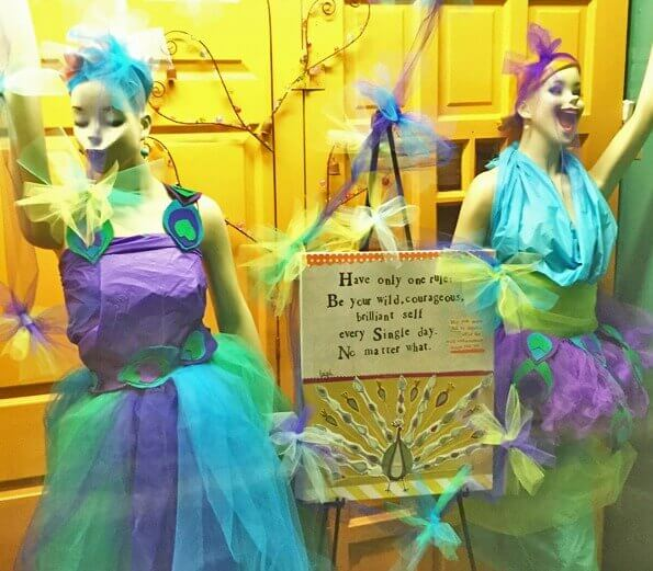 Catching Fireflies Store Window Display