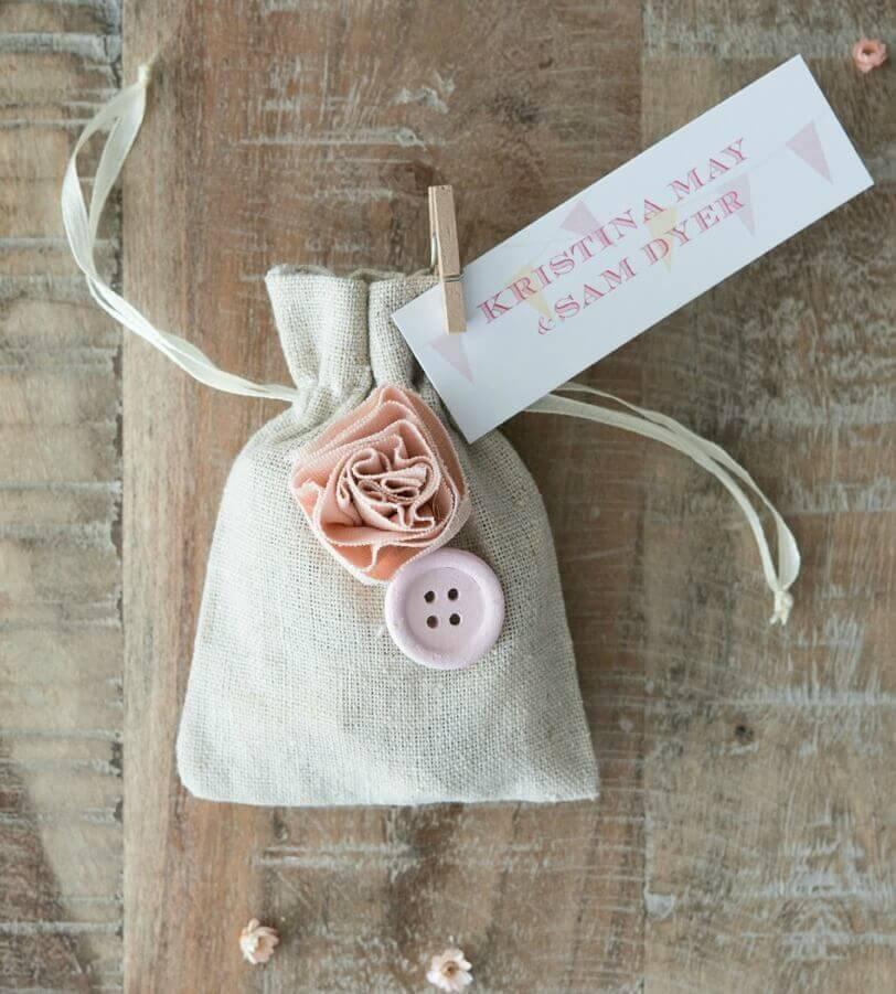 Weddingstar Burlap Favor Bags